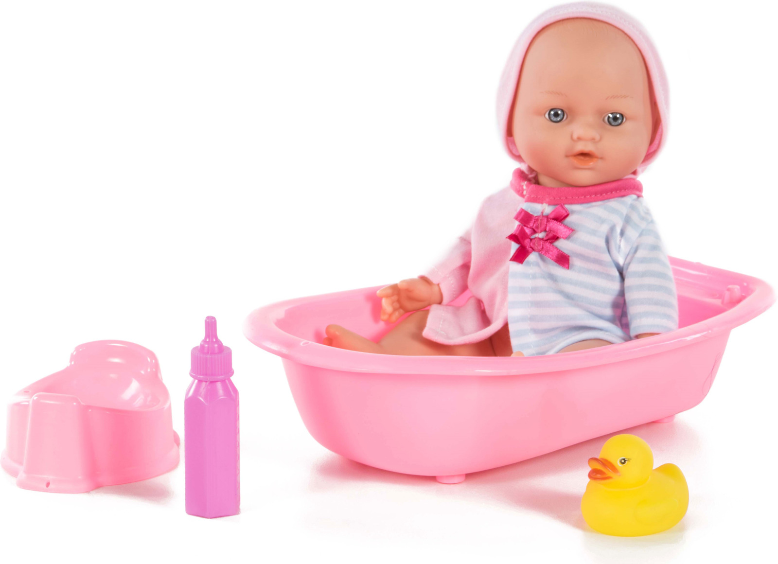 Кукла Loko Le Petit Bebe, с ванночкой и аксессуарами для купания детские ванночки bebe jou ванночка для купания 6256