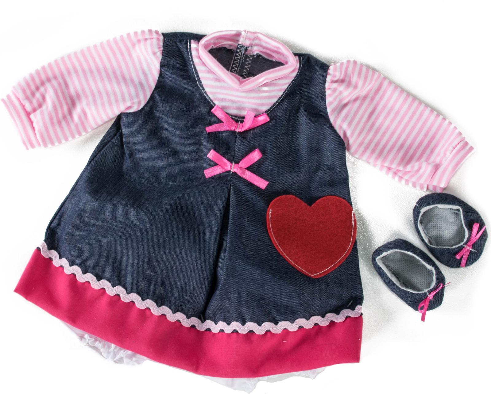 Одежда для куклы Loko Baby Pink, для девочки одежда для куклы loko baby pink для девочки