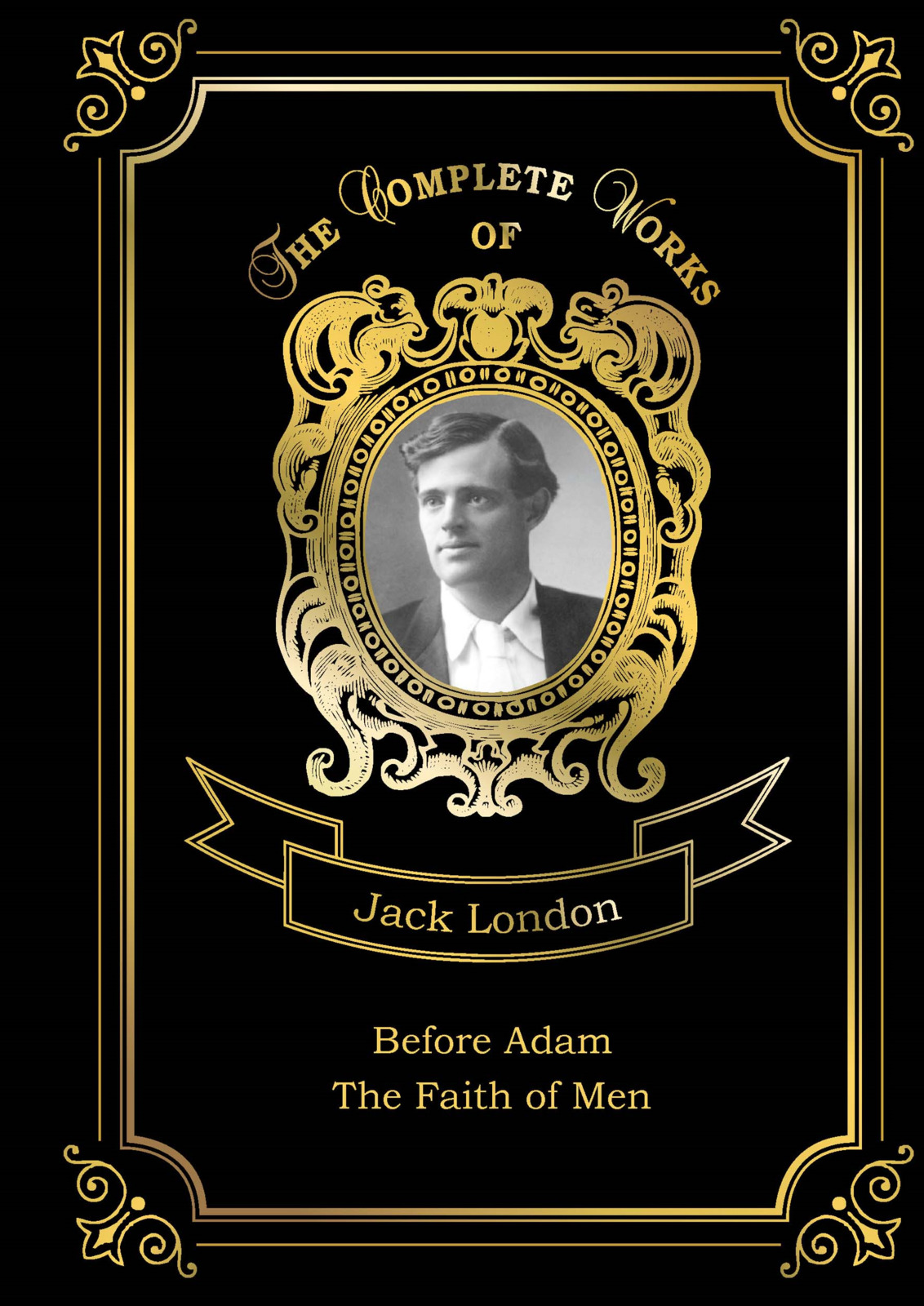 Jack London Before Adam and The Faith of Men a suit of vintage faux leather wing bracelets for men