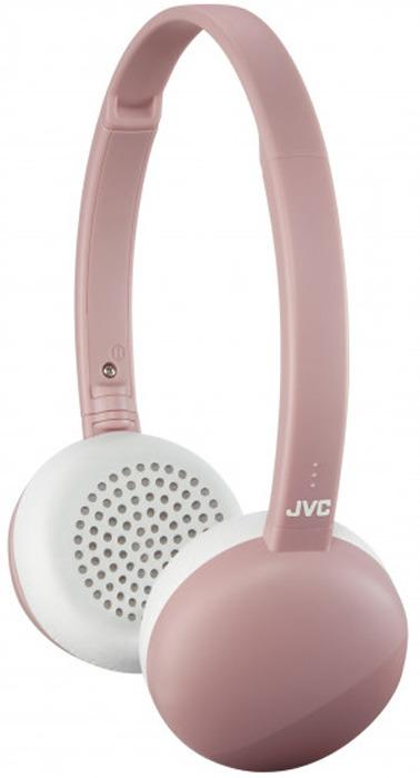 Наушники беспроводные JVC HA-S20BT-P-E, цвет: розовый беспроводные наушники monster isport freedom wireless bluetooth on ear green