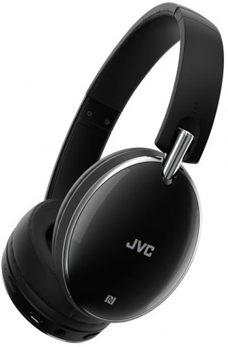 Наушники беспроводные JVC HA-S90BN-E, цвет: черный наушники беспроводные beats solo3 wireless on ear neighborhood collection break blue mq392ze a