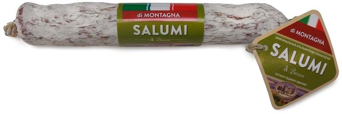 Колбаса сыровяленная полусухая Salumi di Bosco Салями Монтанья, 200 г