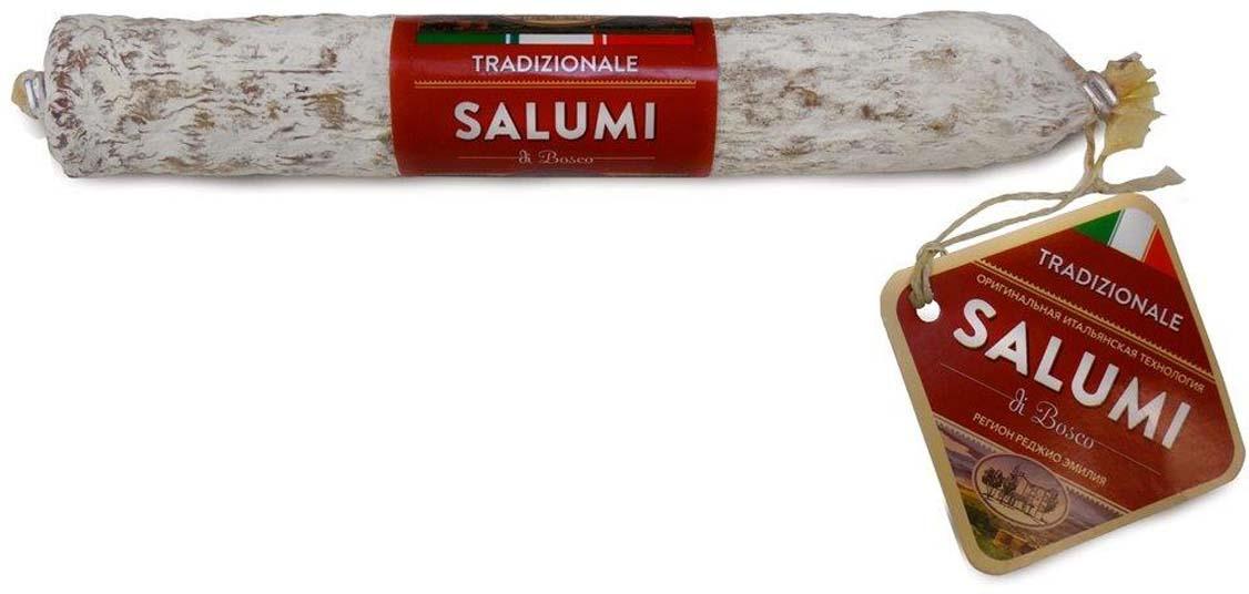 Колбаса сыровяленная полусухая Salumi di Bosco Салями Традиционная, 200 г