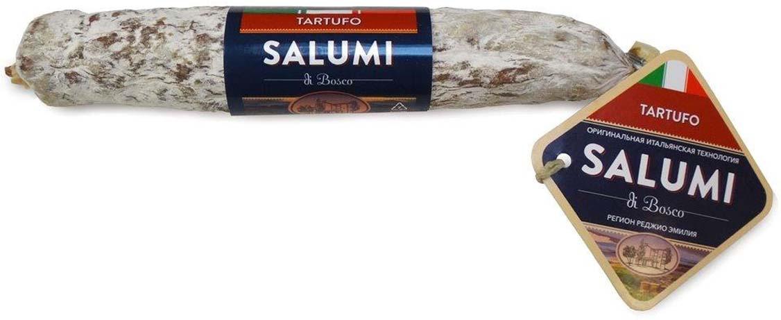Колбаса сыровяленная полусухая Salumi di Bosco Салями с трюфелем, 200 г