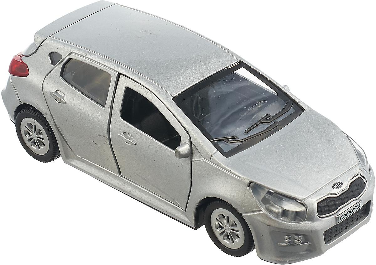 Машинка инерционная ТехноПарк Kia Ceed, цвет: серебристый