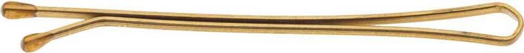 Невидимки Dewal, цвет: золотистый, прямые 50 мм, 200 г
