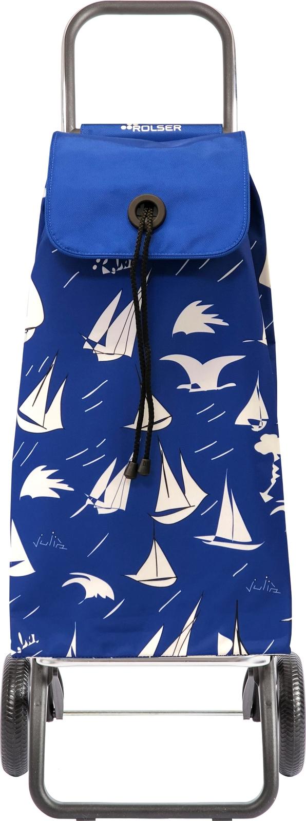 Фото - Сумка-тележка Rolser Convert RG, цвет: синий, 43 л. IMX127 сумка тележка rolser dos 2 цвет синий 48 л pac035