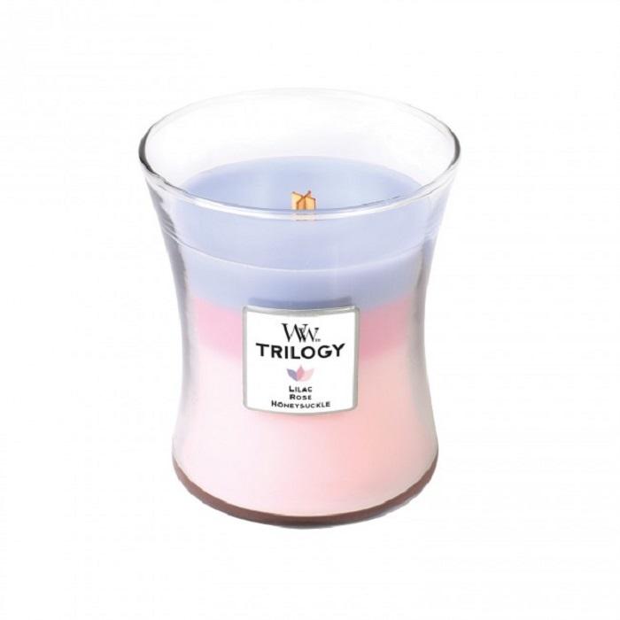 Ароматическая свеча Woodwick Ботанический сад, средняя сувенир giftnhome свеча в кокосе аромат корица spicy cinnamon bali indonesia