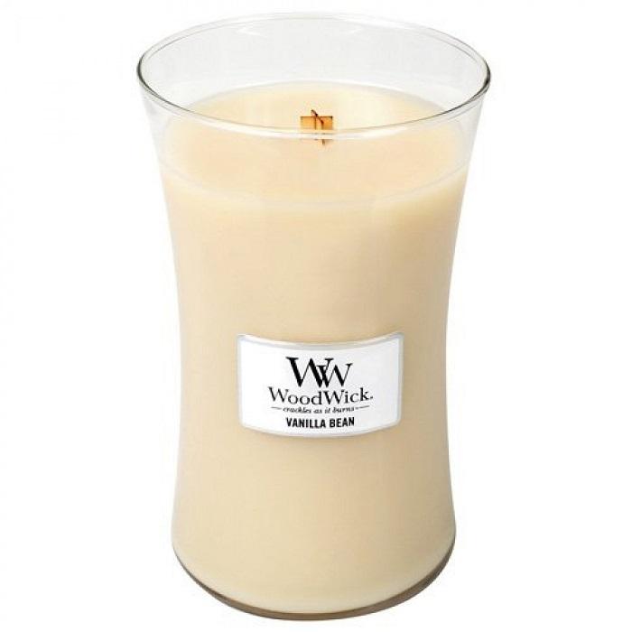 Ароматическая свеча Woodwick Натуральная ваниль, большая свеча ароматизированная woodwick натуральная ваниль высота 18 см