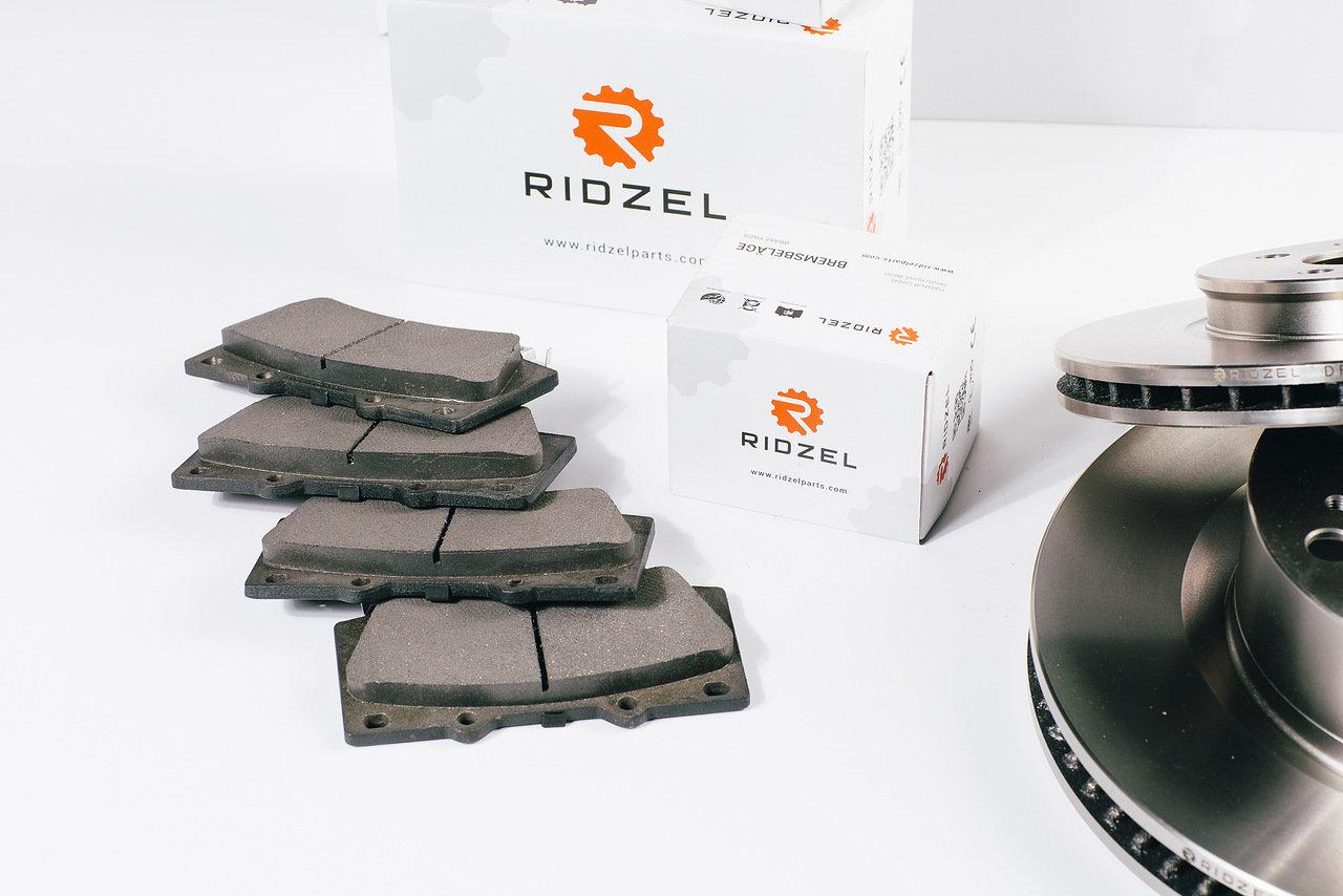 Диск тормозной Ridzel, задний, невентилируемый. DF237