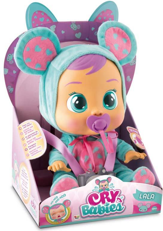 Пупс IMC Cry Babies. Плачущий младенец Ляля imc toys imc toys кукла интерактивная crybabies плачущий младенец ляля