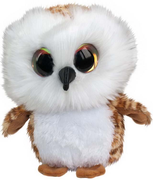 Игрушка мягкая Lumo Сова Uggla, цвет: коричневый, 15 см fancy мягкая игрушка сова 20 см gso0r