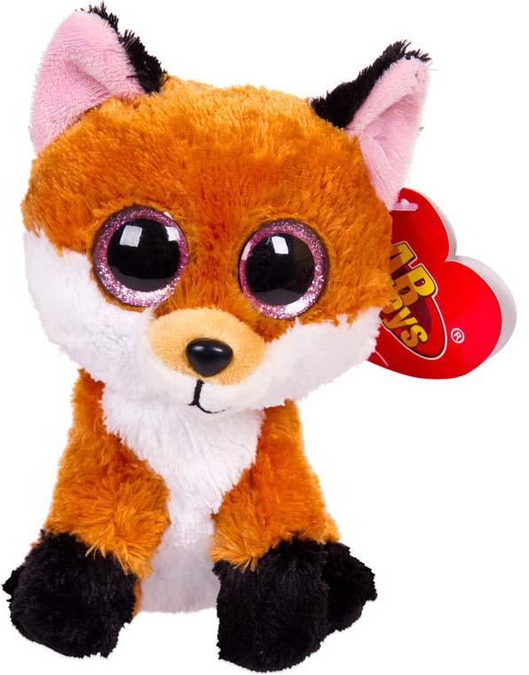 Игрушка мягкая Abtoys Рыжая лисичка, 15 см игрушка мягкая лисичка мила