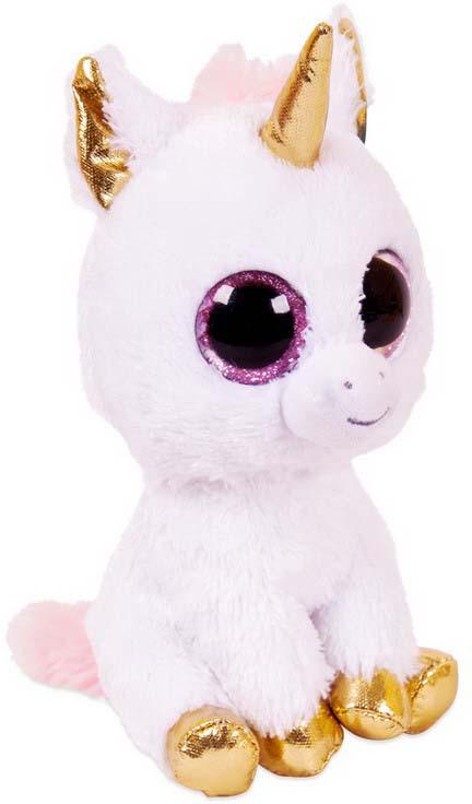Игрушка мягкая Abtoys Единорог, цвет: розовый, 14 см классические abtoys мягкая игрушка abtoys жираф 14 см