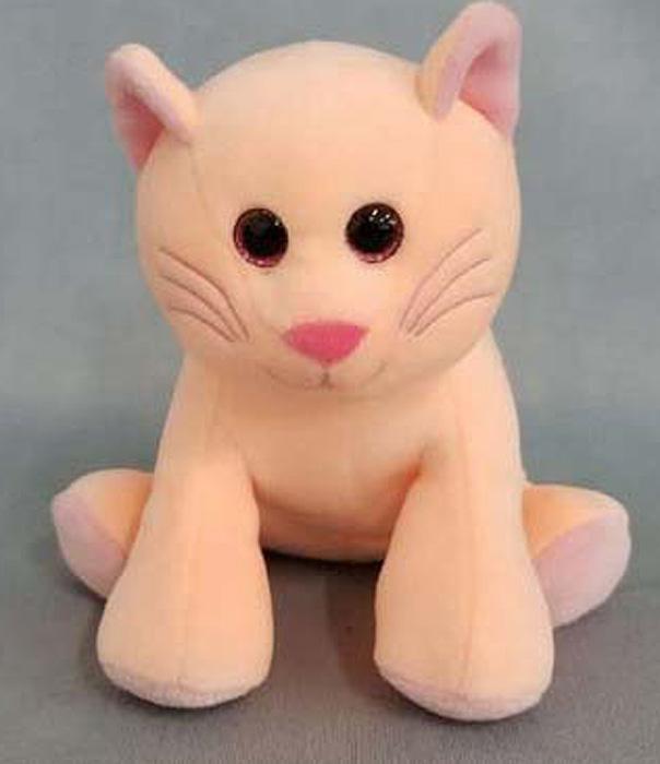 Игрушка мягкая Teddy Кошка, 16,5 см