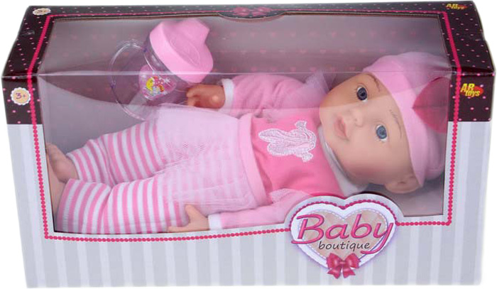 Кукла Dimian Baby Boutique, с аксессуарами, 33 см кукла baby the club my sister с аксессуарами t10737