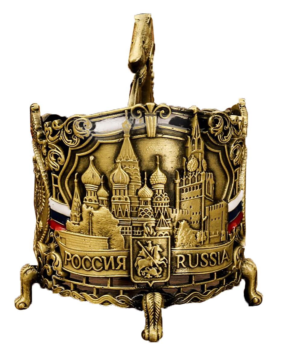 Подстаканник Настоящий мужчина. Кремль,11,4 х 9,3 см. 2690871
