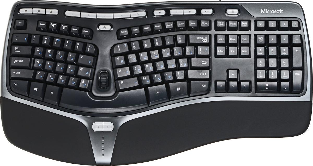 все цены на Клавиатура Microsoft Natural Ergonomic Keyboard 4000 (B2M-00020), Black
