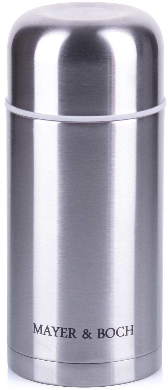 Термос Mayer & Boch, цвет: серебристый, объем 1 л термос 1 5 л mayer