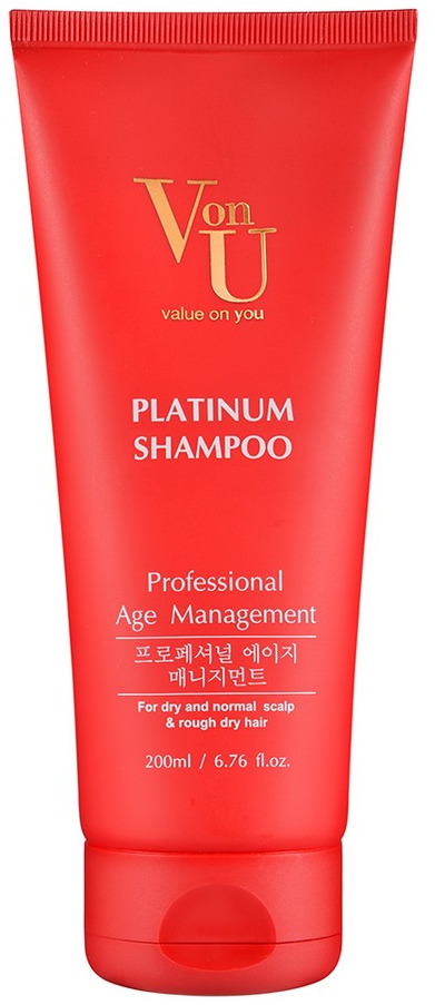 Шампунь для волос Von-U Platinum, 200 мл