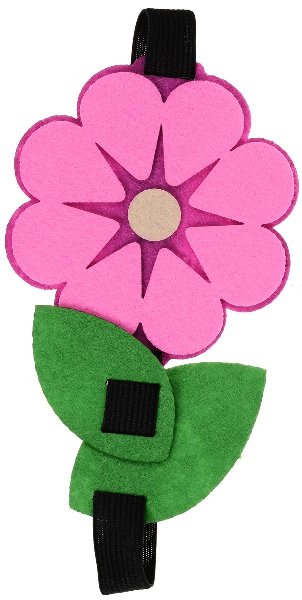 """Закладка Feltrica """"Цветок 1"""", на резинке"""