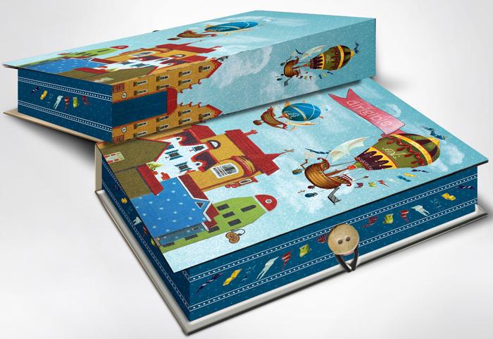 Коробка подарочная Magic Home Дирижабли в лето. 42374 дирижабли