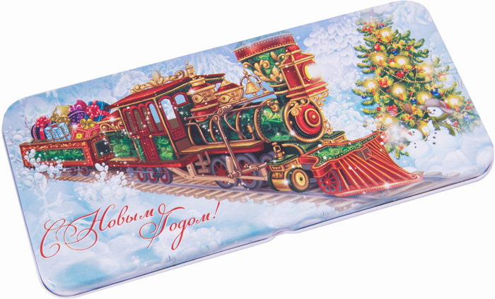 Конверт для денег Magic Time Новогодний поезд. 78119 подарочная коробочка для денег конверт для денег сердечки 43685