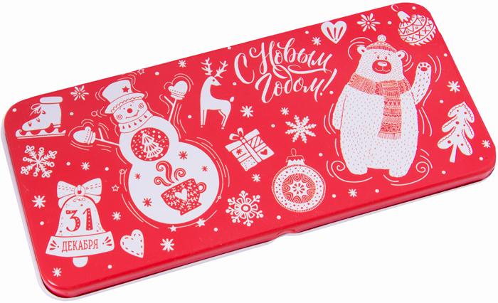Конверт для денег Magic Time Снеговик и мишка. 78124 подарочная коробочка для денег конверт для денег сердечки 43685