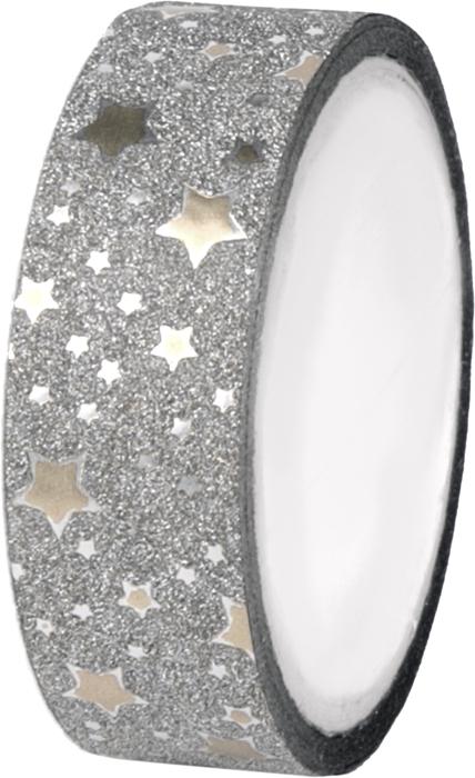 Декоративная самоклеящаяся лента Звезды серебро из полипропилена, ширина ленты 1,5 см, длина 4 м4,5х4,5х1,5см. С ее помощью можно преобразить любой предмет до неузнаваемости. Проявите фантазию, и украшенный своими руками подарок никого не оставит равнодушным!