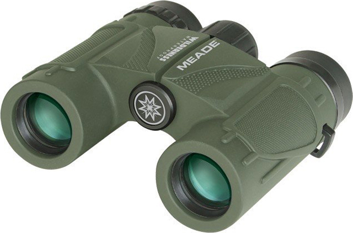 Бинокль Meade Wilderness 10x25, Green бинокль meade rainforest pro 10x32