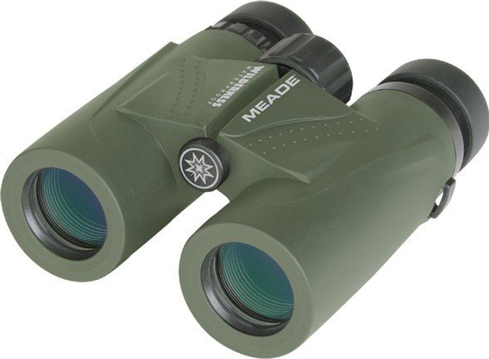 Бинокль Meade Wilderness 10x32, Green бинокль meade wilderness 10x32