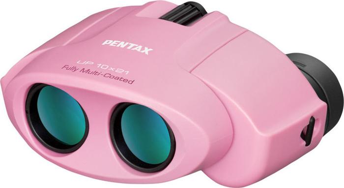 Бинокль Pentax UP 10x21, Pink цифровой бинокль pentax dcf sp 8x43 62615