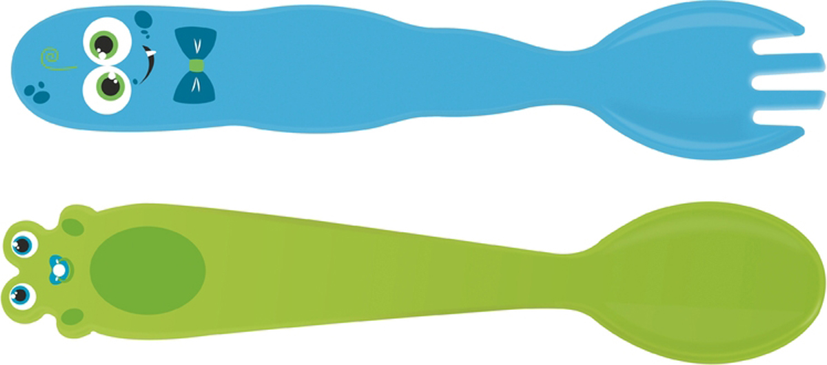 Детский набор Tramontina - столовые приборы созданные специально для малышей. Они имеют яркую расцветку, будут привлекать внимание и радовать вашего ребенка. Дизайн столовых приборов разработан специально для детей: тщательно обработанные края и округлые формы снижают риск пораниться.