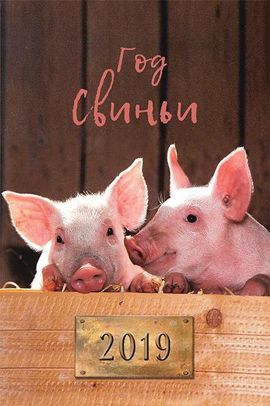 Календарь 2019 (на магните). Год свиньи