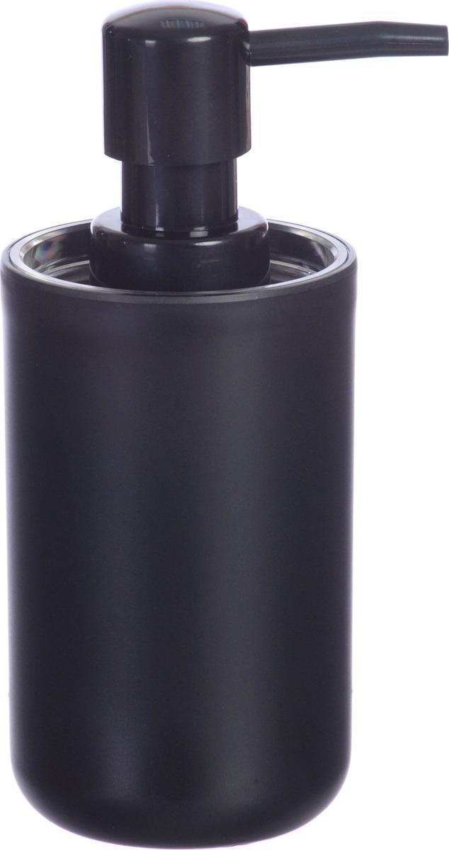 Дозатор Plastic black выполнен из пластика черного цвета с прорезиненным эффектом, стильный и простой дизайн, компактный размер изделия украсят любой интерьер ванной комнаты.