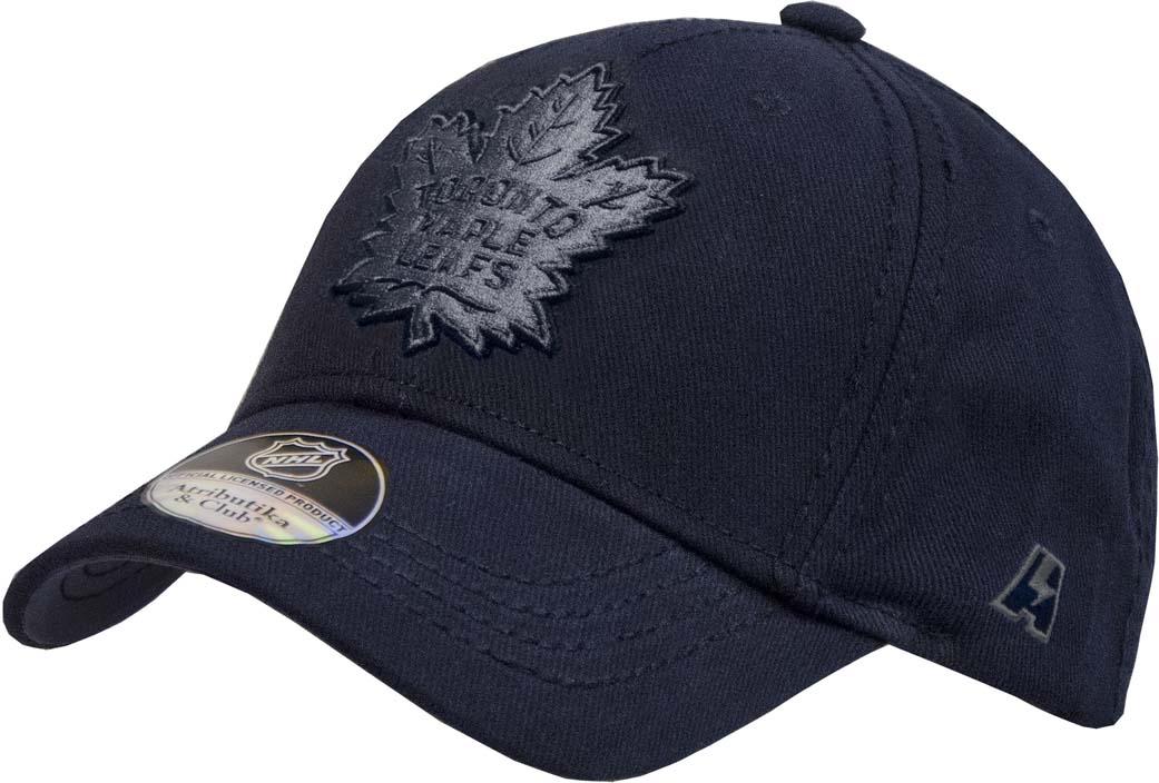 Бейсболка Atributika & Club Toronto Maple Leafs, цвет: темно-синий. 28136. Размер 55/58 toe toronto