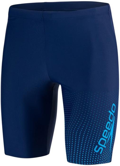 Плавки мужские Speedo Gala Logo Jammer, цвет: темно-синий, синий. 8-11355C577-C577. Размер 38 (48/50)