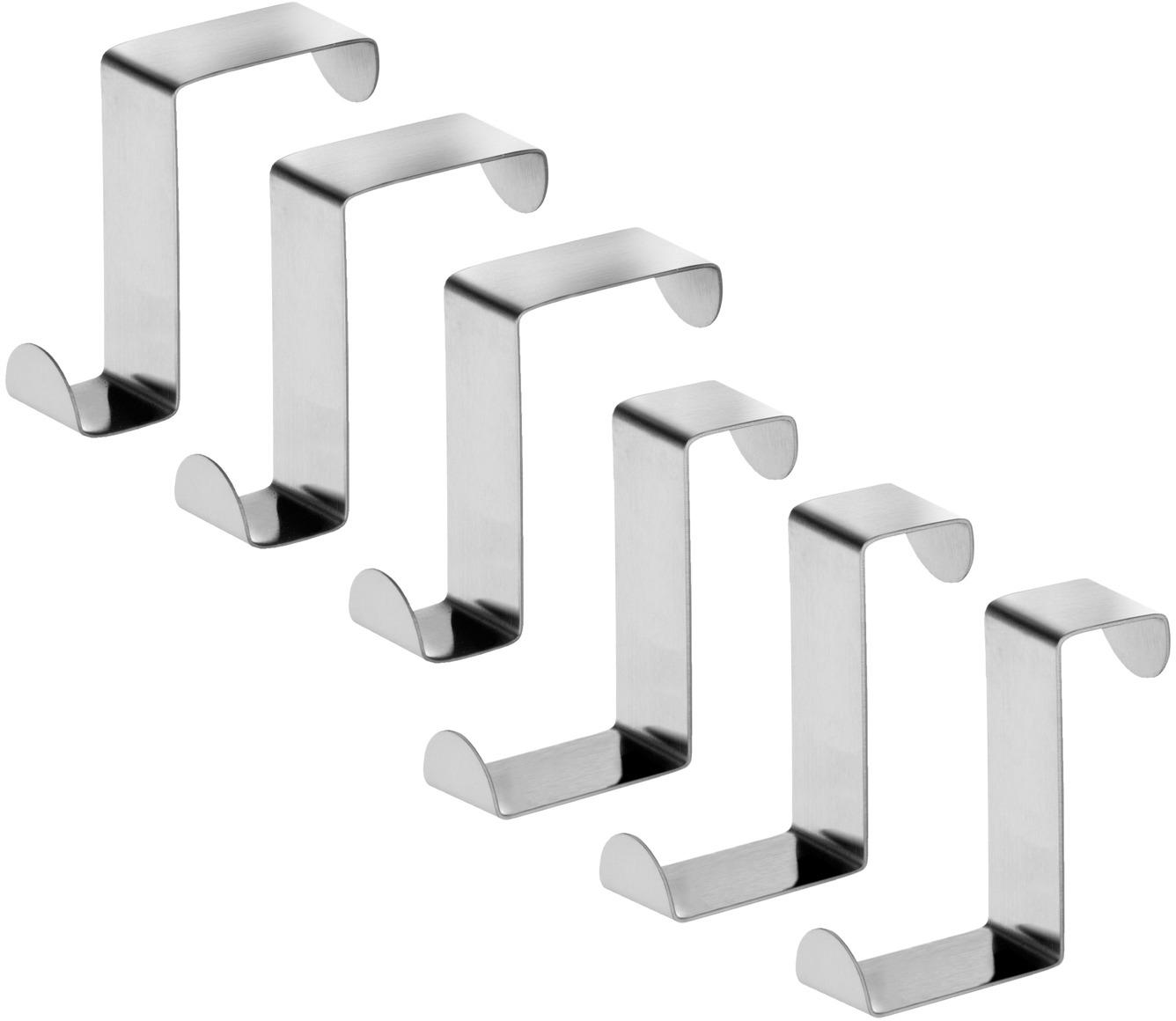 цена на Крючки для дверей и выдвижных шкафов Tatkraft Seger, 6 шт