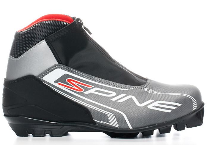 Ботинки лыжные мужские SPINE Comfort 83/7 NNN, цвет: серый. Размер 50
