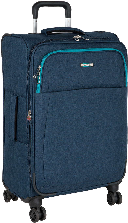 Чемодан Polar, четырехколесный, с увеличением объема, цвет: синий, 96,6 л чемодан samsonite uplite цвет красный 38 5 л 99d 00005