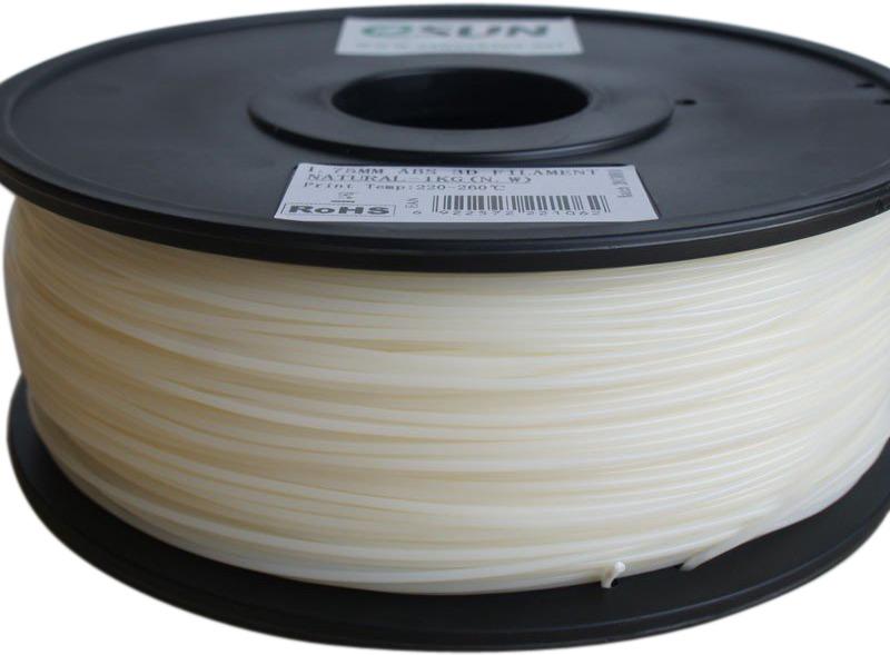 Катушка пластика ESUN HIPS HIPS175N1, 1.75 мм, 1 кг, цвет: натуральный esun pla пластик в катушке gold pla175j1
