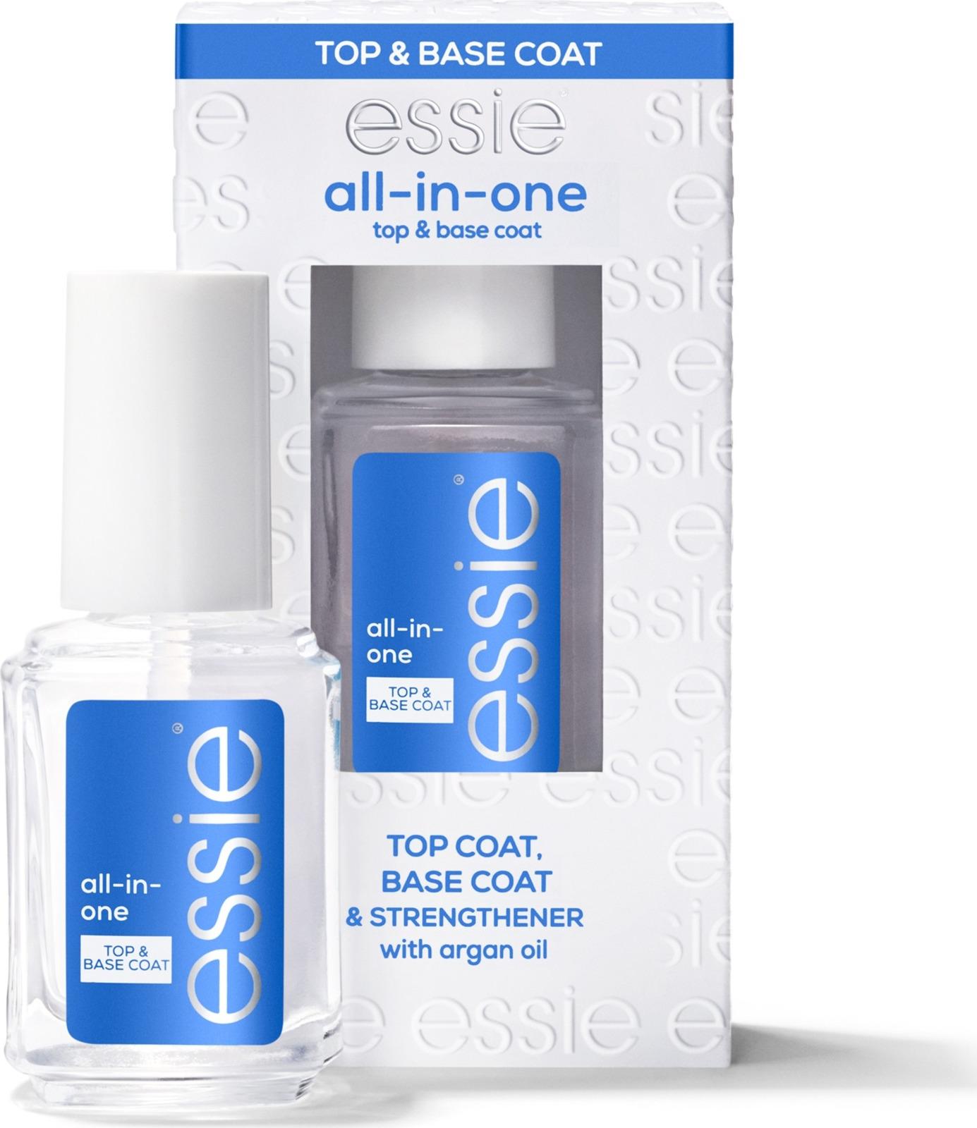 Основа под лак Essie All in One Base, комплексный уход, 13,5 мл интимная косметика system jo массажный гель масло all in one massage oil cucumber огуречный
