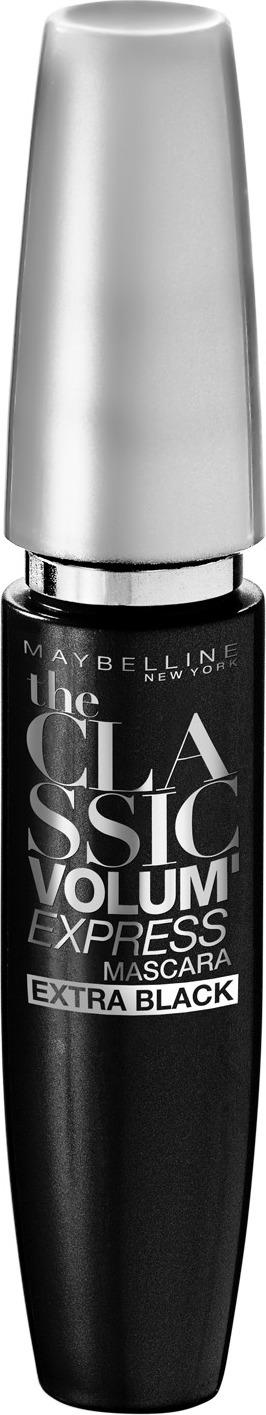 Тушь для ресниц Maybelline New York Volum' Express. Экстрачерная, трехкратный натуральный объем, цвет: экстрачерный, 10 мл