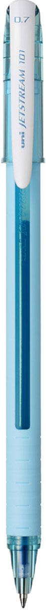 Набор ручек шариковых Uni, Jetstream SX-101-07FL, цвет чернил: синий, цвет корпуса: бирюзовый, 12 шт набор ручек шариковых uni jetstream sx 101 07 цвет чернил черный 12 шт