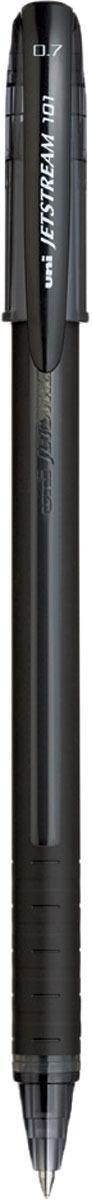 Набор ручек шариковых Uni, Jetstream SX-101-07, цвет чернил: черный, 12 шт музыка и многое другое ohto cb 10dd кристалл алмаза ручка серебро керамические бусины 0 5мм черный full metal сделано в японии