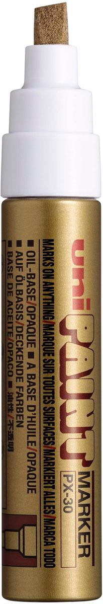 Маркер Uni, PX-30 цвет: золотой, 4,0-8,5 мм uni paint marker medium point assorted 12 set total 2 sets