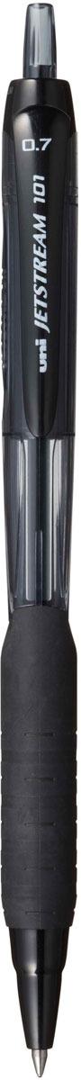 Набор автоматических шариковых ручек Uni, Jetstream SXN-101-07, цвет чернил: черный, 12 шт набор ручек шариковых uni jetstream sx 101 07 цвет чернил черный 12 шт