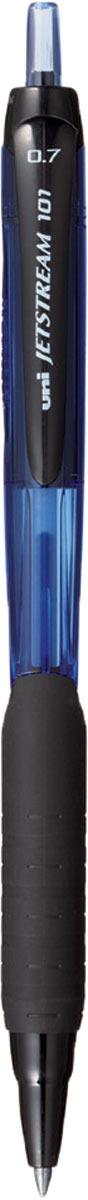 Набор автоматических шариковых ручек Uni, Jetstream SXN-101-07, цвет чернил: синий, 12 шт набор ручек шариковых uni jetstream sx 101 05 цвет чернил синий 12 шт
