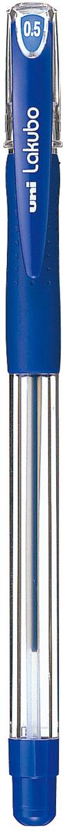Набор ручек шариковых Uni, Lakubo SG-100, цвет чернил: синий, 0,5 мм. 12 шт музыка и многое другое ohto cb 10mj гранд серии ручки синий керамические бусины 0 5мм черный полный металл сделано в японии