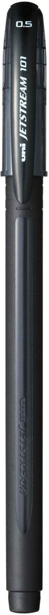 Набор ручек шариковых Uni, Jetstream SX-101-05, цвет чернил: черный, 12 шт музыка и многое другое ohto cb 10dd кристалл алмаза ручка серебро керамические бусины 0 5мм черный full metal сделано в японии